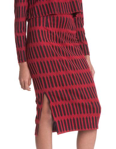 PLENTY BY TRACY REESEStriped Jersey Skirt
