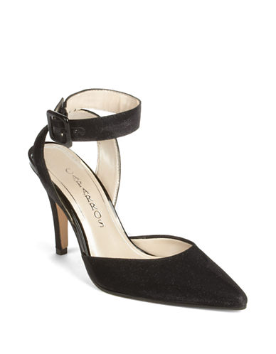 CAPARROS Ingrid Ankle-Strap Pumps