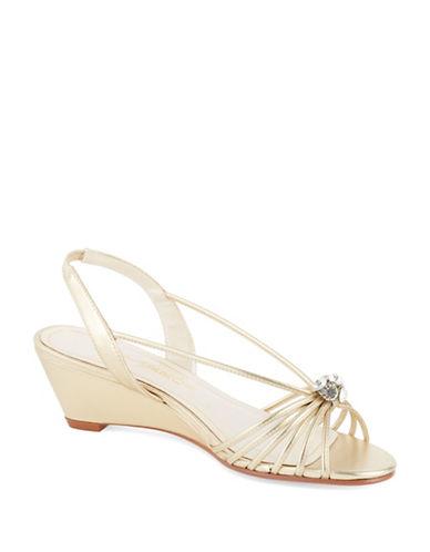 CAPARROSMargarita Metallic Shoes