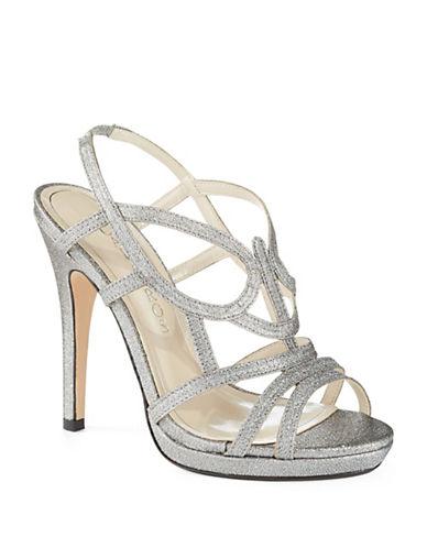 CAPARROSMacarena Metallic Heels