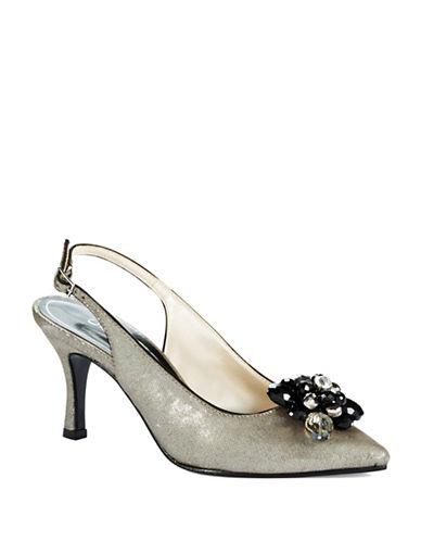 CAPARROSObsession Metallic Heels