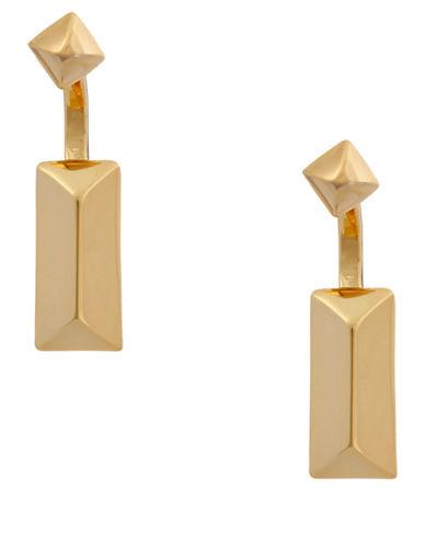 RACHEL ZOEFacets 14K Gold Geometric Drop Earrings