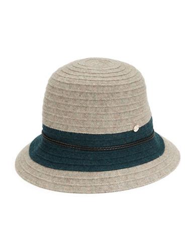 Wool And Cashmere Hat $295.00 AT vintagedancer.com