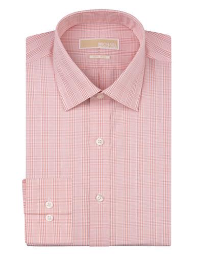 MICHAEL MICHAEL KORSRegular Fit Plaid Non-Iron Dress Shirt