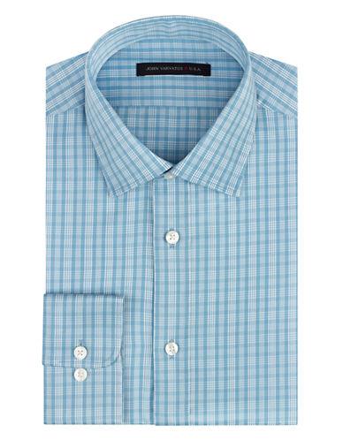 JOHN VARVATOS U.S.A.Slim Fit Plaid Dress Shirt