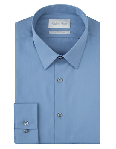 CALVIN KLEINSlim Fit Platinum Dress Shirt