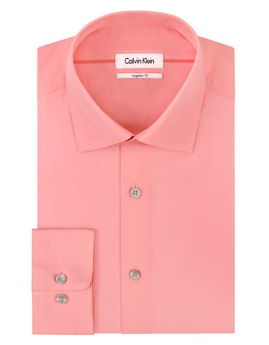 CALVIN KLEIN Cotton Dress Shirt