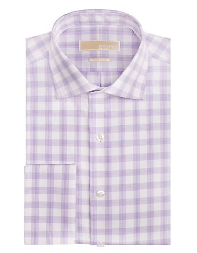MICHAEL MICHAEL KORSRegular Fit Plaid Dress Shirt