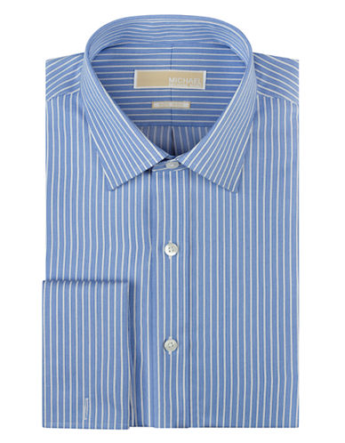 MICHAEL MICHAEL KORS Regular Fit Stripe Dress Shirt