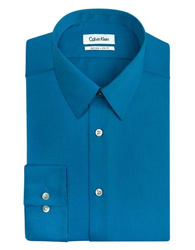 CALVIN KLEINTextured Stripe Dress Shirt