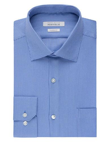 PERRY ELLISWrinkle Free Geo Print Dress Shirt