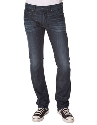 7 DIAMONDS Clifton Slim Straight Jeans
