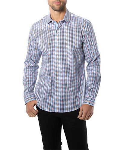 7 DIAMONDSRio Bravo Striped Dobby Sport Shirt