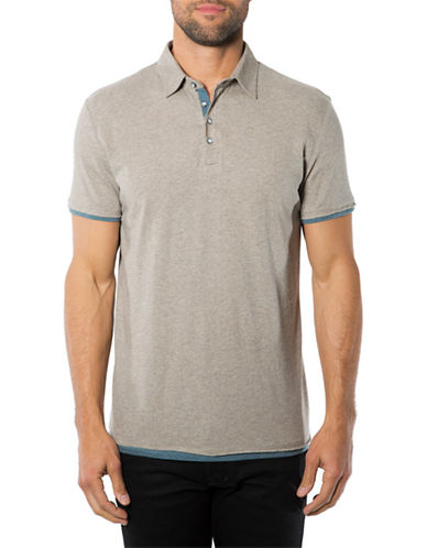 7 DIAMONDSUltimate Contrast-Trimmed Polo Shirt