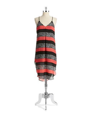 EIGHT SIXTYStriped Maxi Dress