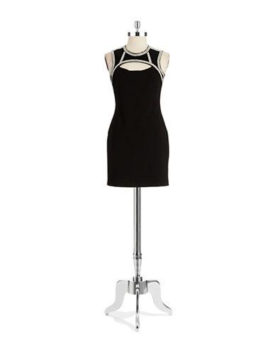 DESIGN LABBead Accented Shift Dress