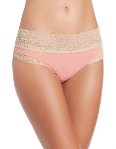 cc california female  lace top thongs