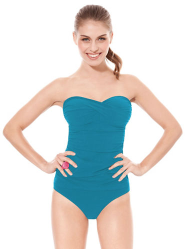 One-Piece Bandeau Bathing Suit