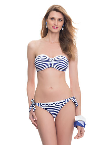 BLUSHF-Cup Underwire Bandeau Bikini Top