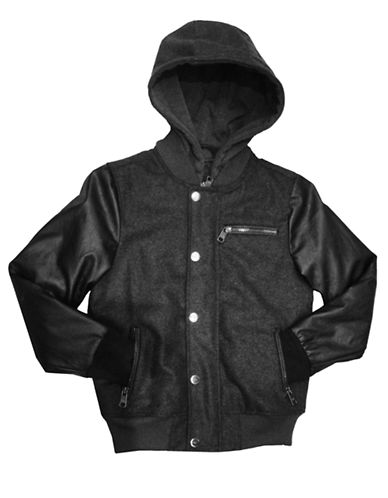 URBAN REPUBLIC Boys 8-20 Hooded Bomber Jacket