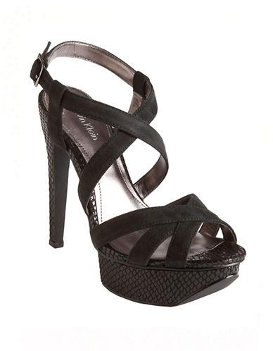 CALVIN KLEINKamille Platform Suede Sandals