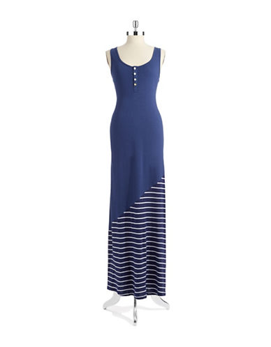 THREADS FOR THOUGHTStriped Maxi Dress
