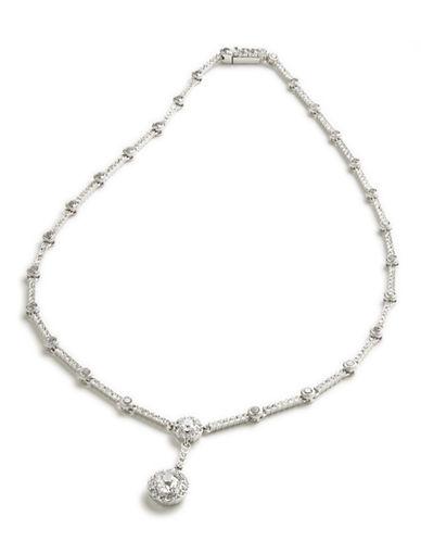 NADRICrystal Bezel Necklace