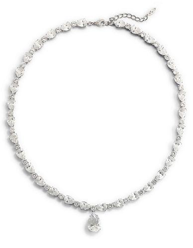 NADRICubic Zirconia Pear Drop Necklace