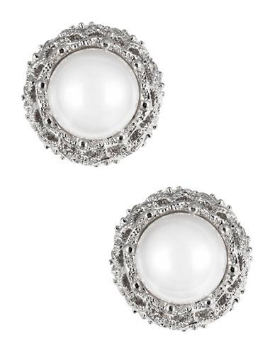 NADRIFaux Pearl Stud Earrings