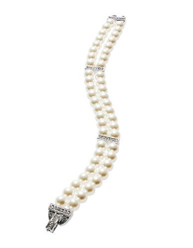 NADRIDouble-Row Faux Pearl Bracelet