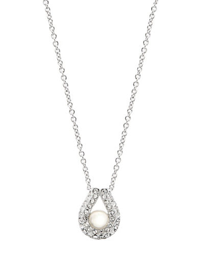 NADRI Pearl Drop Pendant Necklace