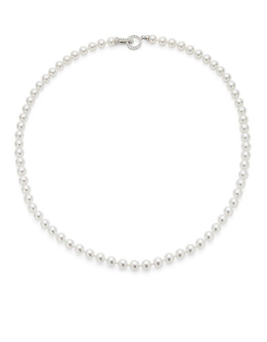NADRIFaux Pearl Strand Necklace