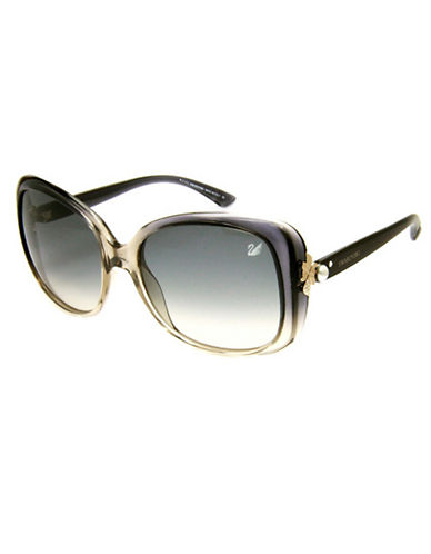 SWAROVSKISquare Ombre Sunglasses
