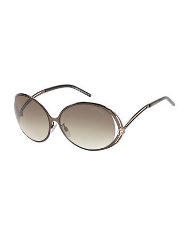 ROBERTO CAVALLIGrumium 61mm Round Sunglasses