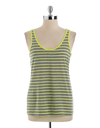 LORD & TAYLOR Striped Tank Top