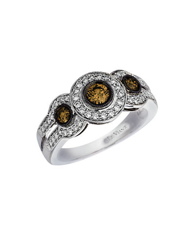 LEVIAN14 Kt. White Gold and Diamond Ring