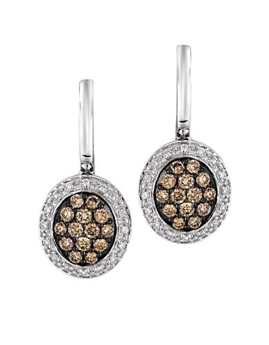 LEVIAN Diamond Drop Earrings in 14 Kt. Vanilla Gold .61ct. t.w.