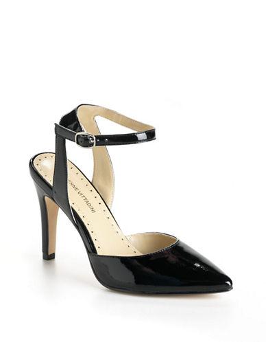 ADRIENNE VITTADINICharma Ankle Strap Leather Pumps