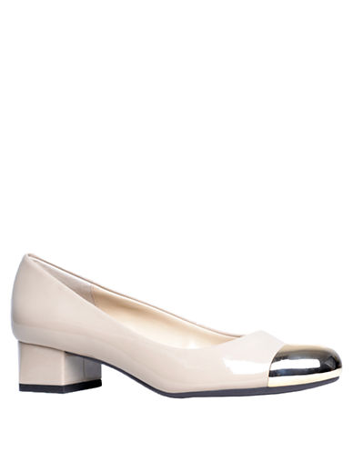 ADRIENNE VITTADINI Geoff Patent Leather Pumps