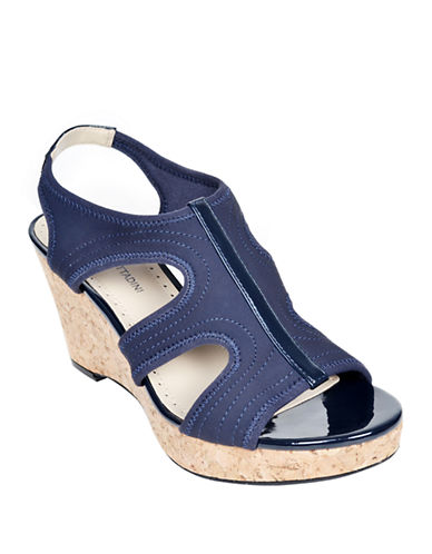 ADRIENNE VITTADINIClint Synthetic Wedge Sandals
