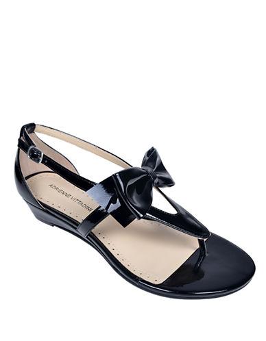 ADRIENNE VITTADINIVerne Metallic Leather Sandals