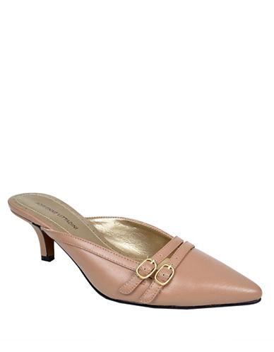 ADRIENNE VITTADINIPaton Leather Slide Sandals