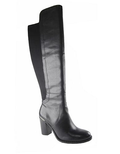 ADRIENNE VITTADINIMoosewood Leather Heeled Boots
