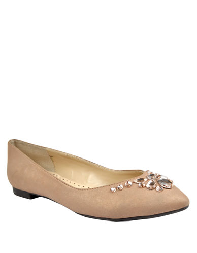 ADRIENNE VITTADINIBryane Embellished Ballet Flats