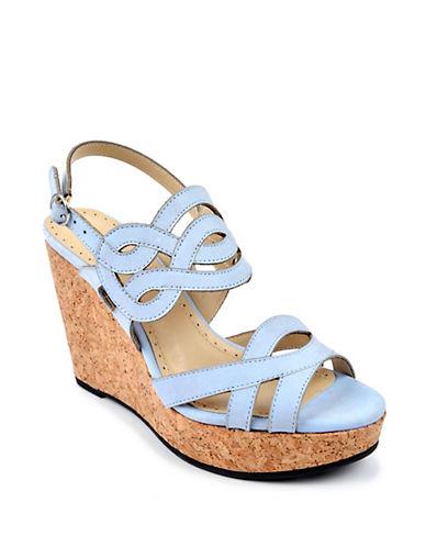 ADRIENNE VITTADINICamber Leather Platform Wedge Sandals
