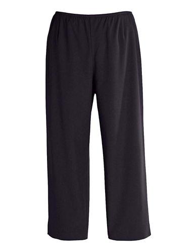 EILEEN FISHER PLUSPlus Side-Zip Cropped Pants
