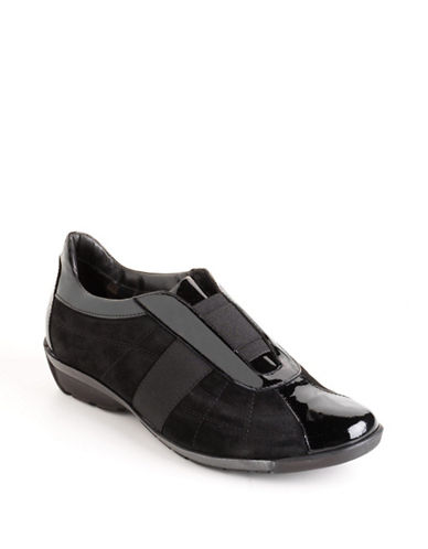 AQUATALIA Wink Slip-On Leather Sneakers