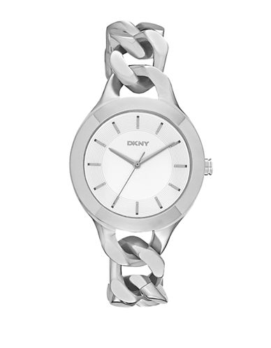 DKNY Ladies Chambers Stainless Steel Watch
