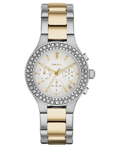 DKNYLadies Chambers Chronograph Watch