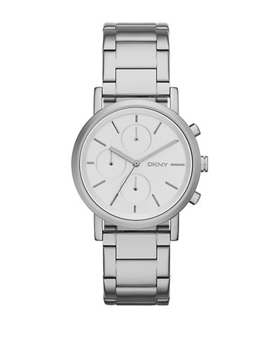 DKNY Ladies Soho Stainless Steel Chronograph Watch